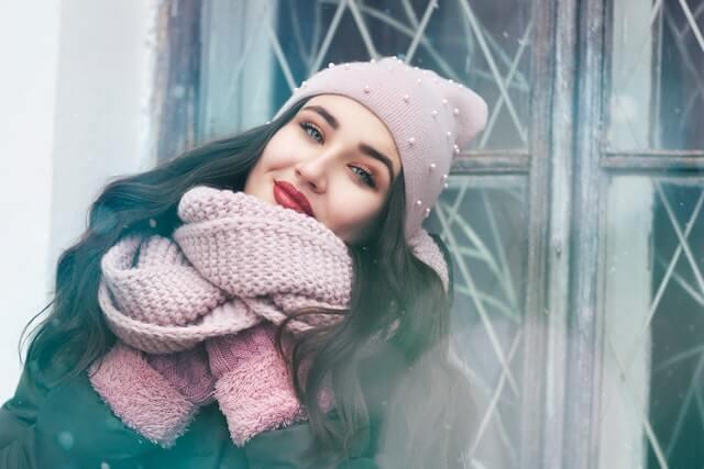 外に合う冬ファッション