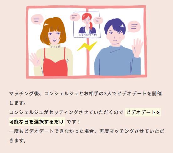 今日から恋人のオンラインデート